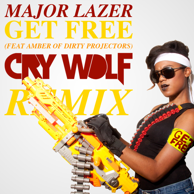 Major Lazer - Get Free (Cry Wolf remix)